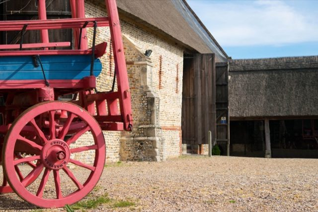 cart-waxham-barn